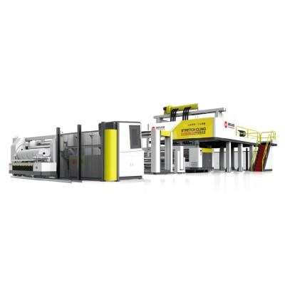 XHD-80/120/80x2350 四轴换卷全自动流延膜机组