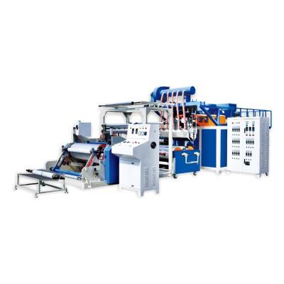 XHD-55/75x1250 全自动高速双层缠绕膜机组(靠背式拉伸膜机器)