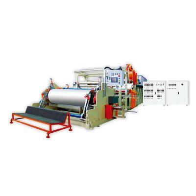 国内新型一米五全自动保护膜机组/缠绕膜机组(靠背式拉伸缠绕膜机器)
