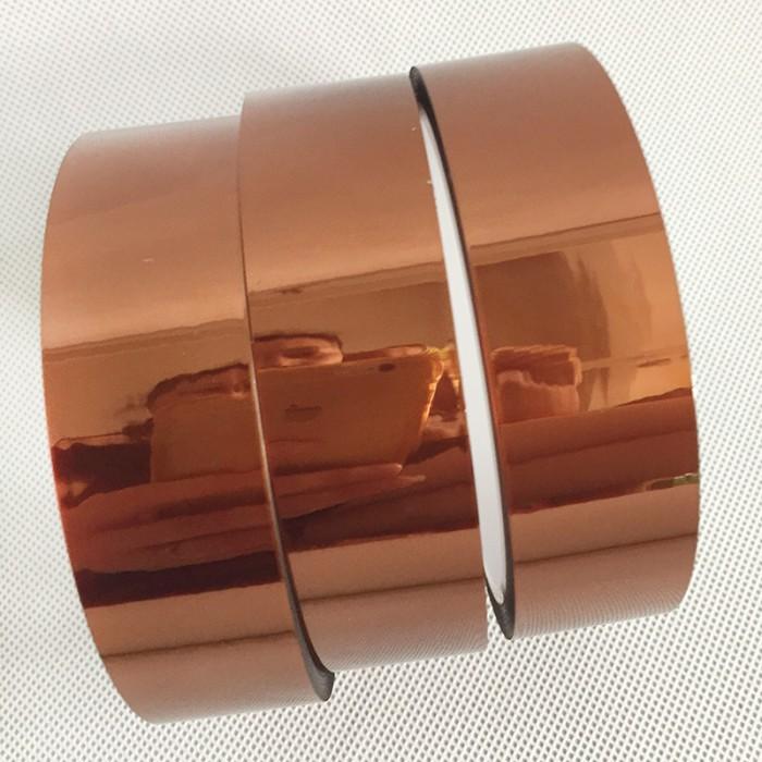 单面双面茶色黑色金手指PI茶色高温胶带线路板电池电子模切胶带