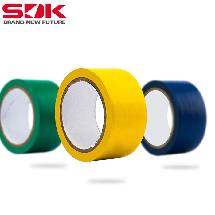 太仓斯迪克地板胶带耐磨防水黄色警示胶带地贴标识胶带批发定制